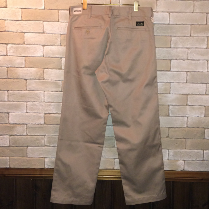 W&L UP  PANTS BEIGEの商品画像2
