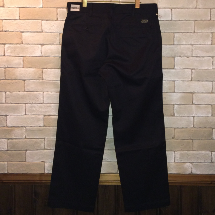 W&L UP  PANTS BLACKの商品画像2