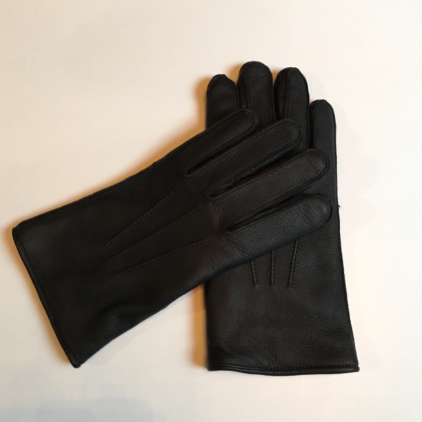 GH LEATHER - GLOVE / BLKの商品画像1
