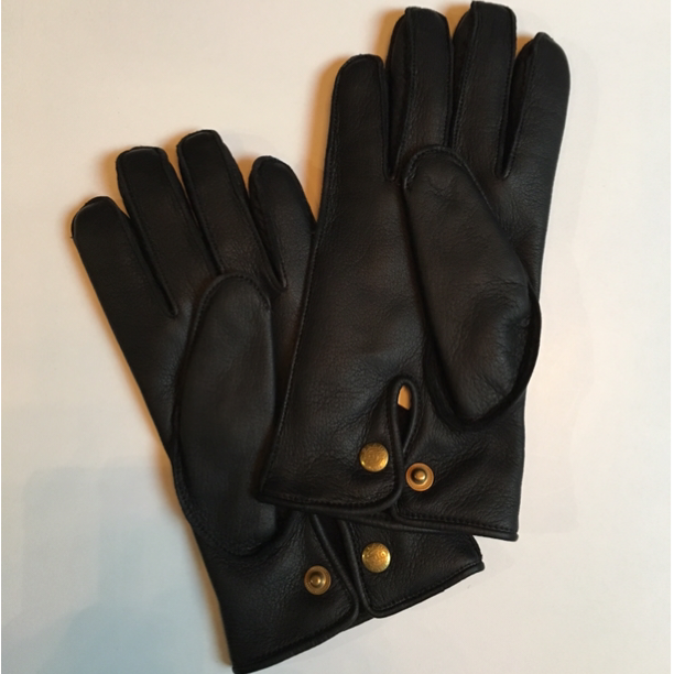 GH LEATHER - GLOVE / BLKの商品画像2