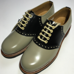 """REGAL × GLAD HAND SADDLE – SHOES """"LADIES"""" GRY × BLKの商品画像"""