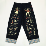 M.L PRINT PAINTER PANTSの商品画像