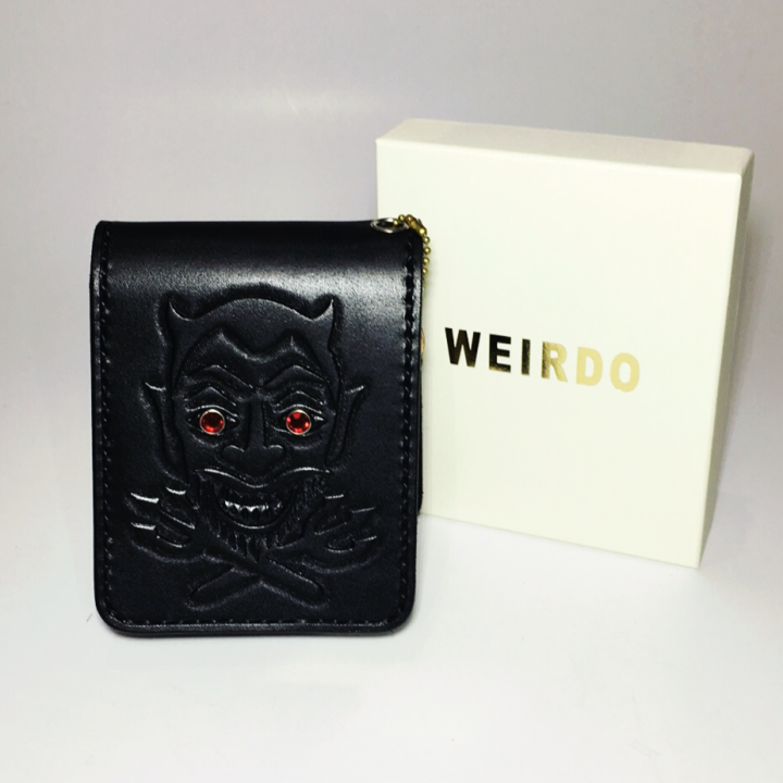 WEIRDO – SHORT WALLET / DEVIL / BLACKの商品画像5