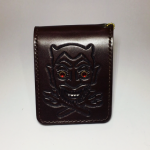 WEIRDO – SHORT WALLET / DEVIL / BROWNの商品画像