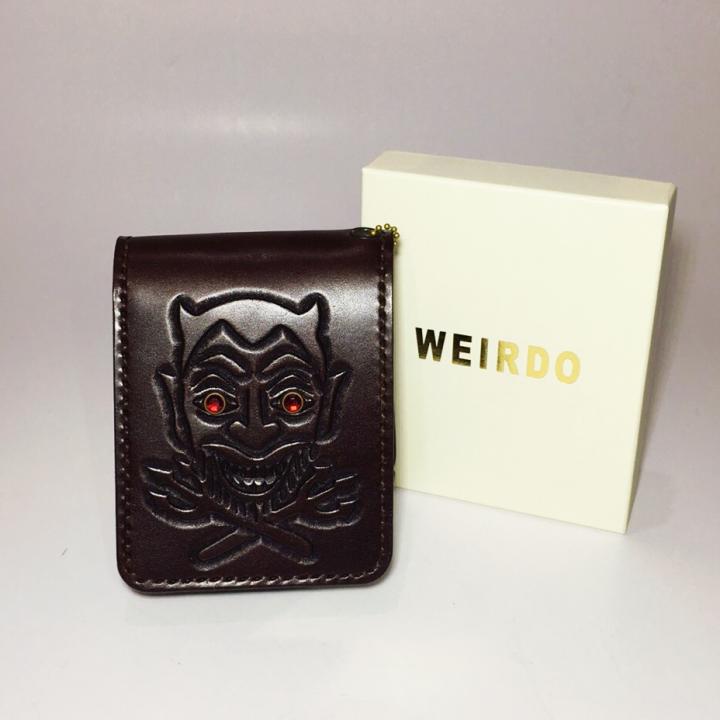 WEIRDO – SHORT WALLET / DEVIL / BROWNの商品画像5