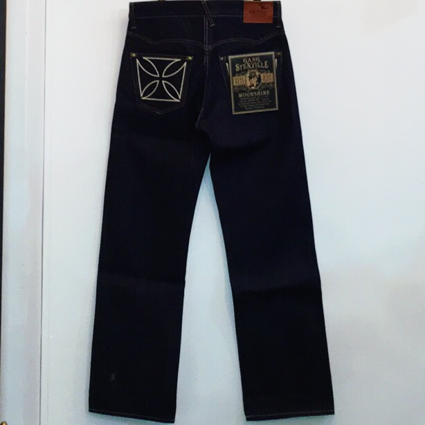 "THUG – DENIM ""IRONCROSS""/ RIGID / IND / IVRの商品画像2"
