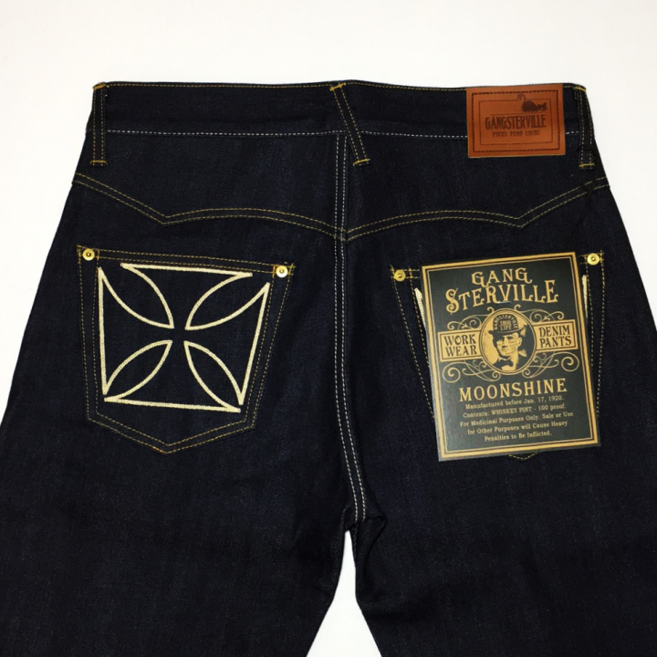 "THUG – DENIM ""IRONCROSS""/ RIGID / IND / IVRの商品画像3"