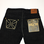 "THUG – DENIM ""IRONCROSS""/ ONE WASH / BLK / IVRの商品画像"