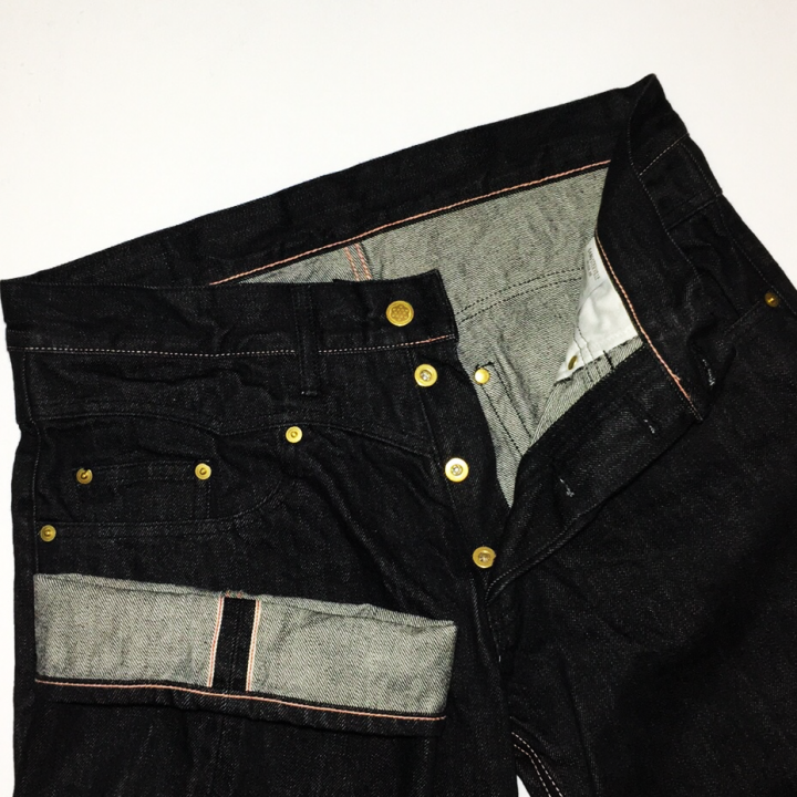 "THUG – DENIM ""IRONCROSS""/ ONE WASH / BLK / PNKの商品画像5"