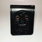WEIRDO – SHORT WALLET / SKULL / BLACKの商品画像