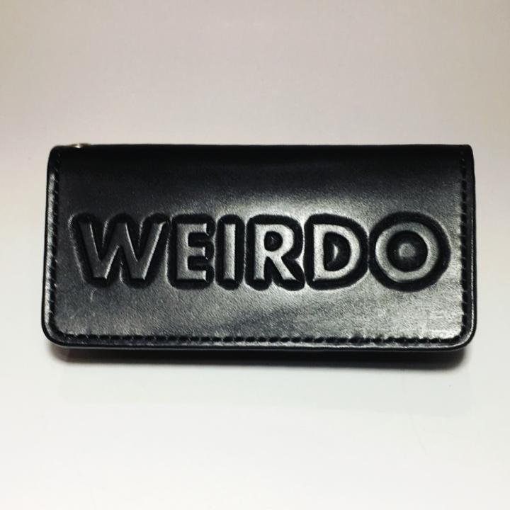 WEIRDO – LONG WALLET / WEIRDO / BLACKの商品画像1