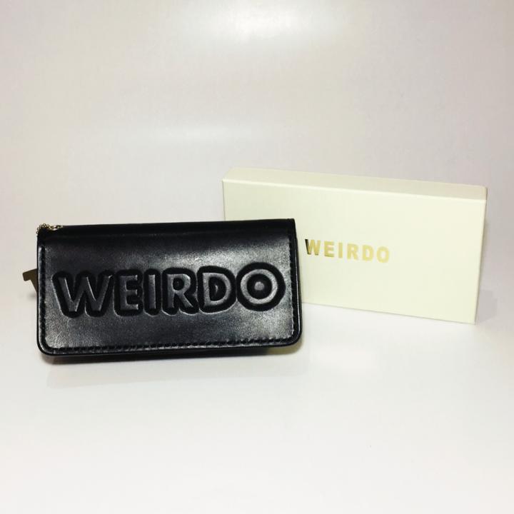 WEIRDO – LONG WALLET / WEIRDO / BLACKの商品画像5