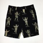 WEIRDO COSTUMES – SHORTS / BLKの商品画像