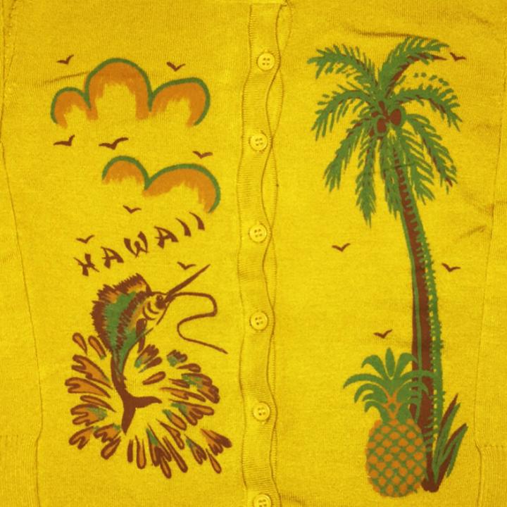 M.L CARDIGAN – HAWAII / MSDの商品画像2