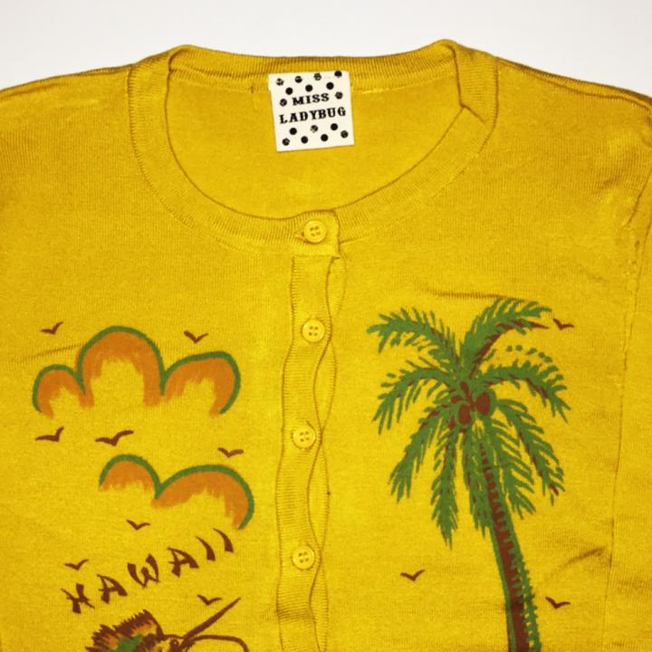 M.L CARDIGAN – HAWAII / MSDの商品画像3