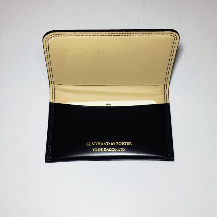 GH-BELONGINGS / CARD CASE / BLKの商品画像3