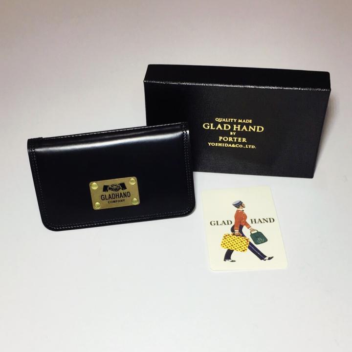 GH-BELONGINGS / CARD CASE / BLKの商品画像4
