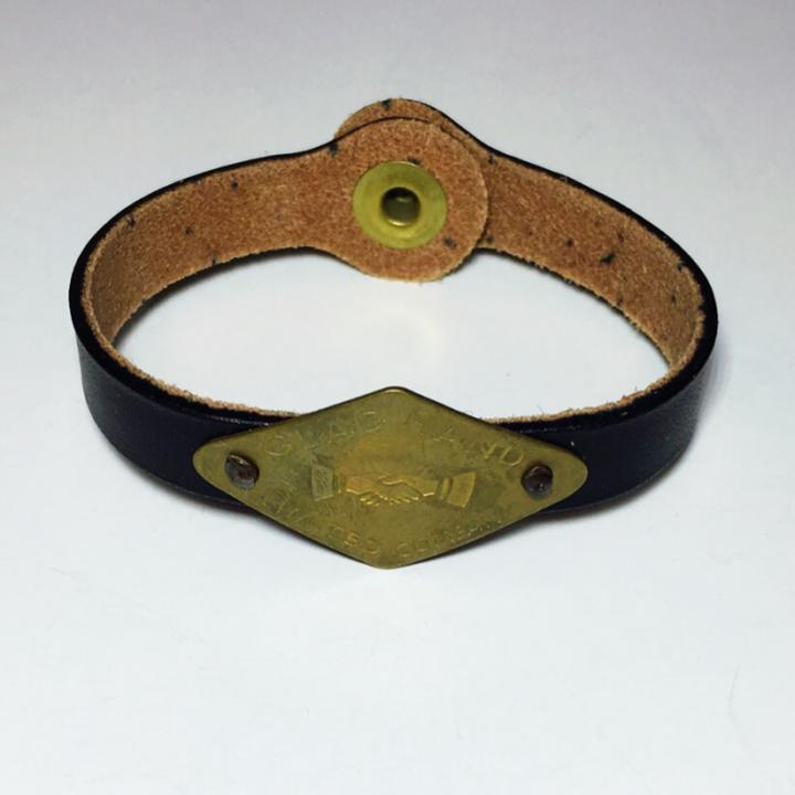 GH TAG – NARROW BRACELET / SHAKE HAND / BLKの商品画像2