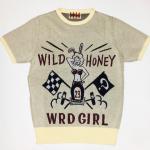 WRD ROD – S/S SWEATER WEIRDO GIRL / IVRの商品画像