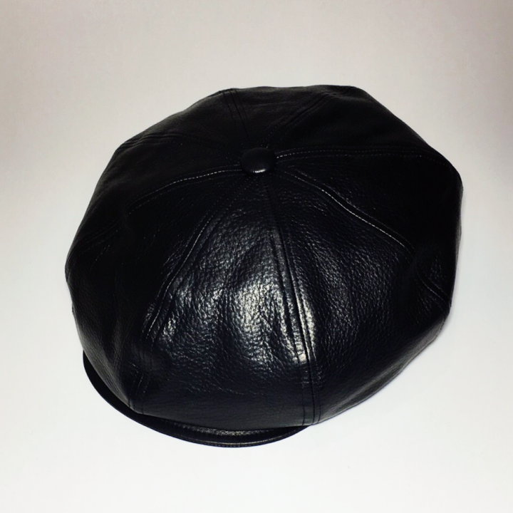 "THUG – CASQUETTE ""COWHIDE"" / BLKの商品画像1"