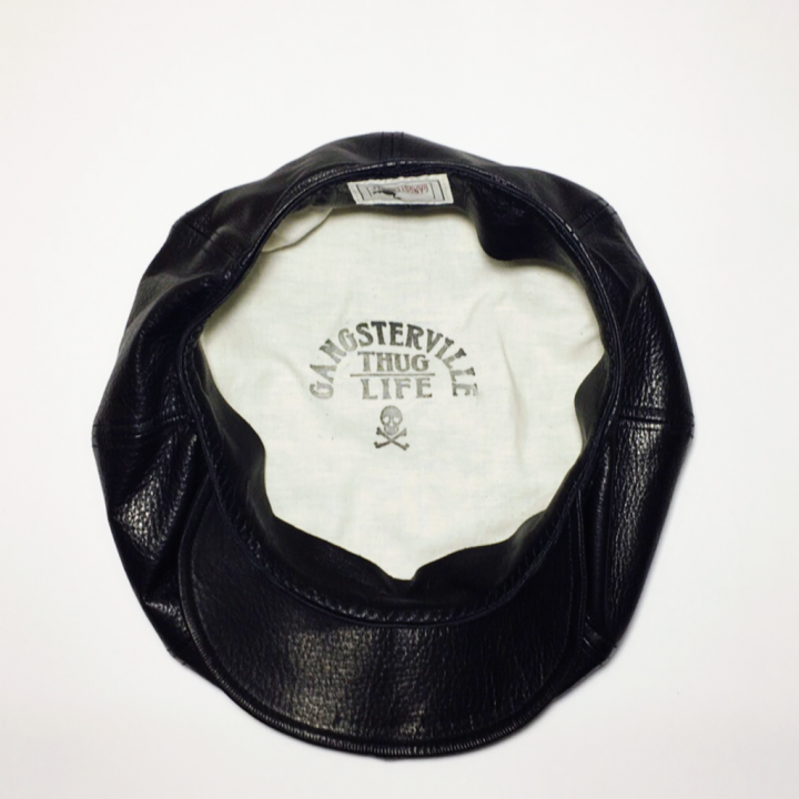 "THUG – CASQUETTE ""COWHIDE"" / BLKの商品画像5"