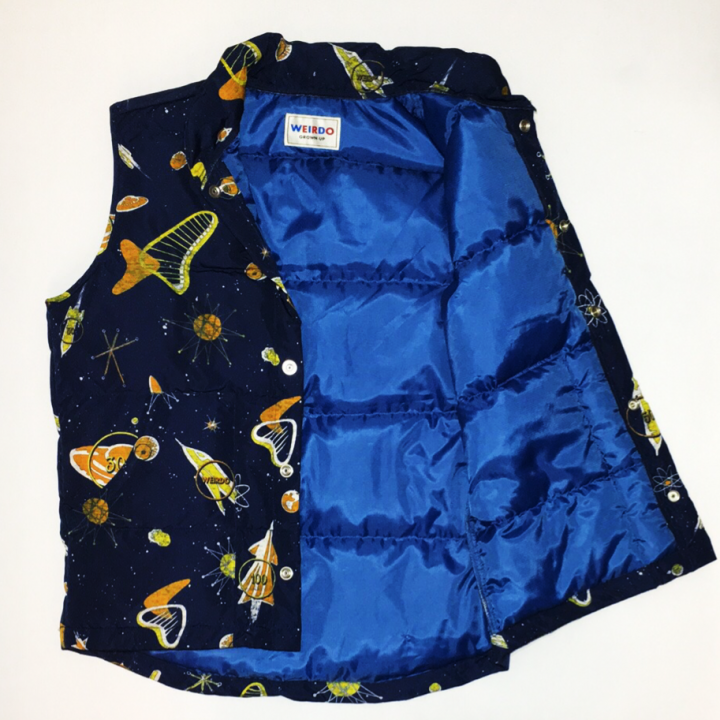 SPACE TARGET – DOWN VEST / NVYの商品画像4