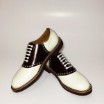 REGAL × GLAD HAND SADDLE – SHOES WHT×BRNの商品画像