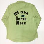 ICE MANIA – L/S B.D.SHIRTS / CHOCO – MINTの商品画像