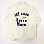 ICE MANIA – L/S B.D.SHIRTS / VANILLAの商品画像