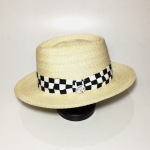 CHECKER – HAT / NATの商品画像