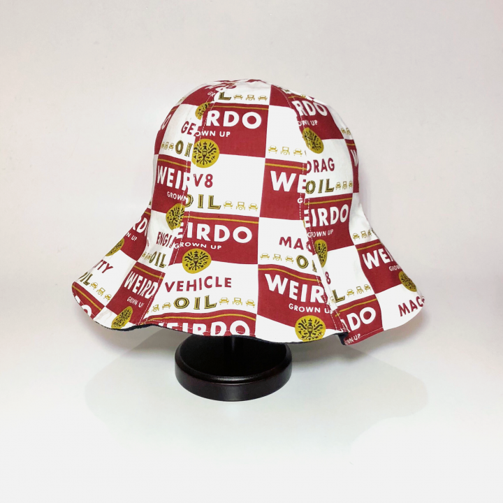 WRD CANS – HAT / REDの商品画像1