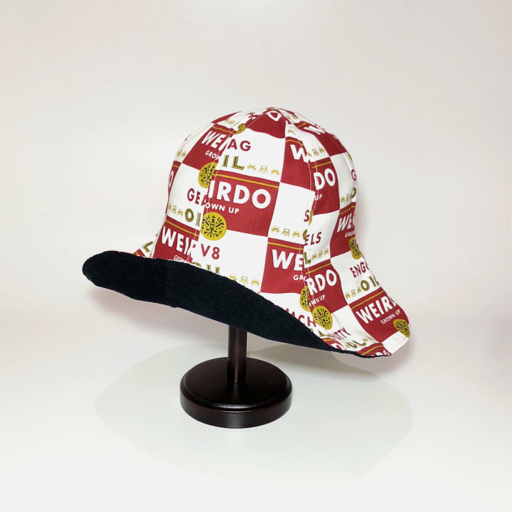 WRD CANS – HAT / REDの商品画像2