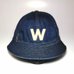 W – DENIM HAT / INDIGO VINTAGE FINISHの商品画像