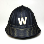 W – DENIM HAT / INDIGOの商品画像