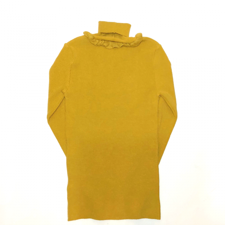 GOOD LUCK FRILLED – TURTLE NECK SWEATER / MSDの商品画像2