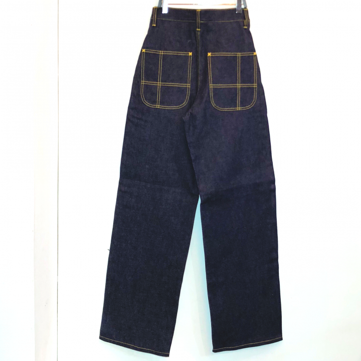 M.L 40'S WORK PANTS / INDIGO RIGIDの商品画像2