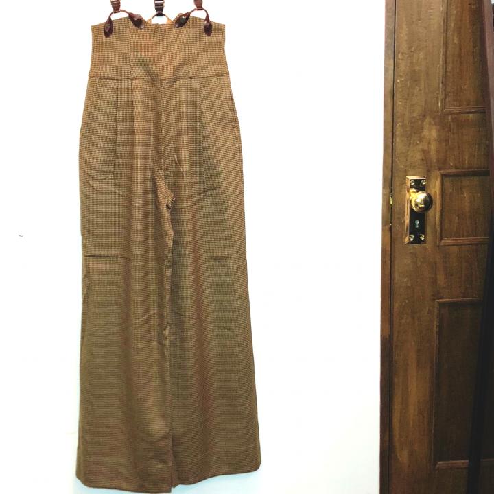 CLASSIC TWEED – SUSPENDER PANTSの商品画像5