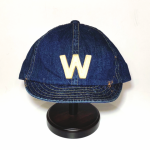 W – DENIM CAP / INDIGO VINTAGE FINISHの商品画像