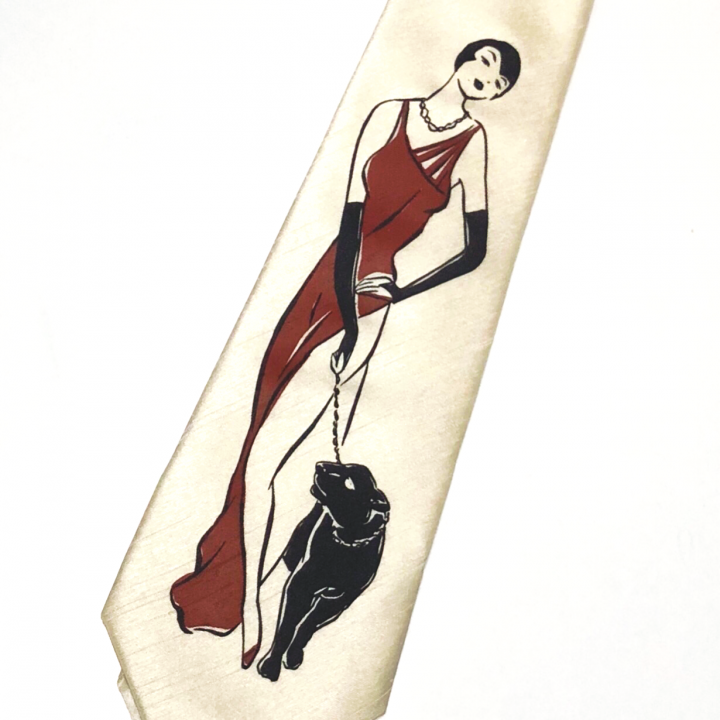 LADY WITH PANTHER – TIEの商品画像2