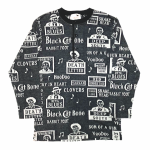 MOJO – L/S HENRY NECK T-SHIRTS / BLKの商品画像