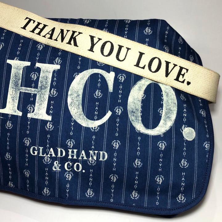 HEARTLAND – NEWS PAPER BAG / INDIGO VINTAGE FINISHの商品画像2