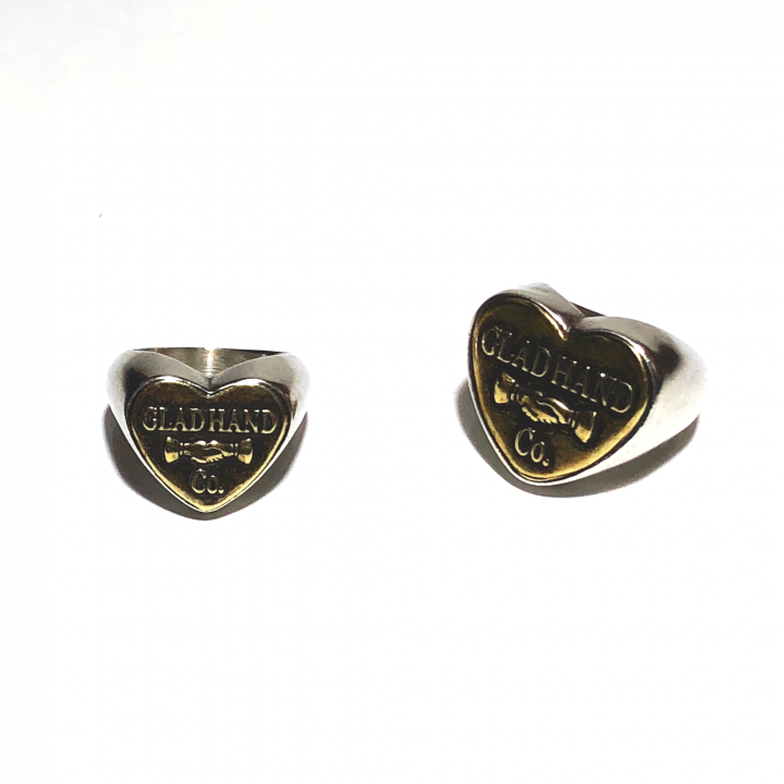 """BUTTON RING """"HEART"""" / SMALLの商品画像4"""