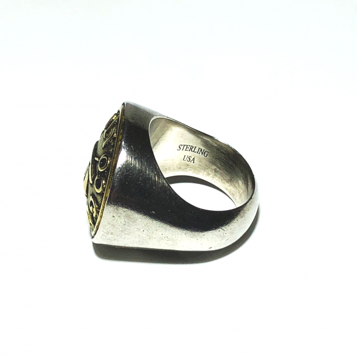 """BUTTON RING  """"HAT"""" / LARGEの商品画像3"""