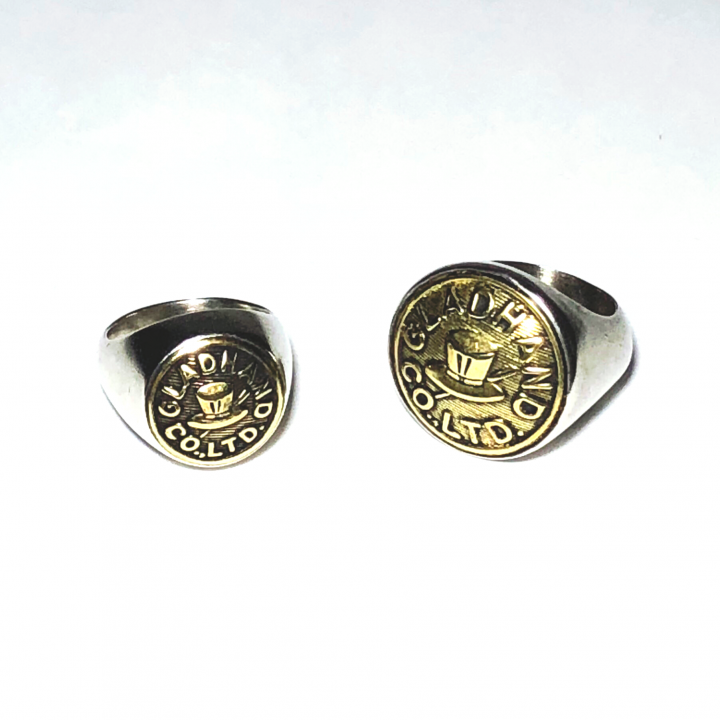 """BUTTON RING  """"HAT"""" / LARGEの商品画像4"""