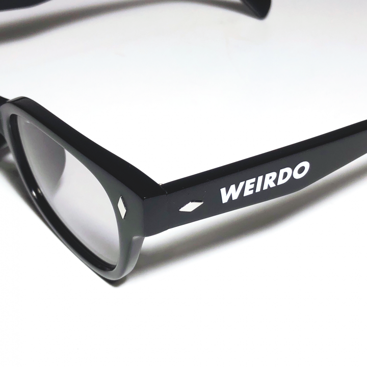 WEIRDO / FREAKY RIDERS – GLASSES / BLACK × GRAYの商品画像4