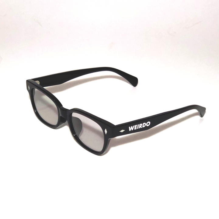 WEIRDO / FREAKY RIDERS – GLASSES / BLACK × GRAYの商品画像3