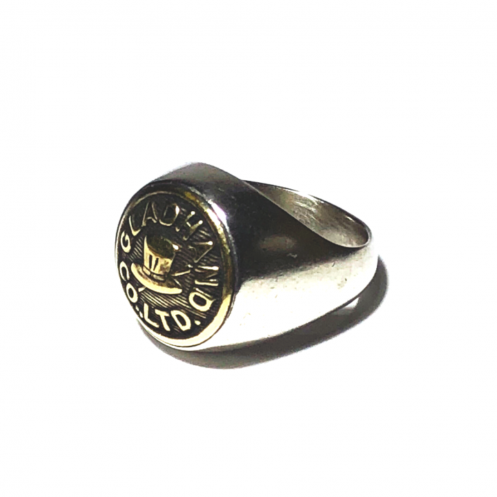"""BUTTON RING  """"HAT"""" / SMALLの商品画像2"""