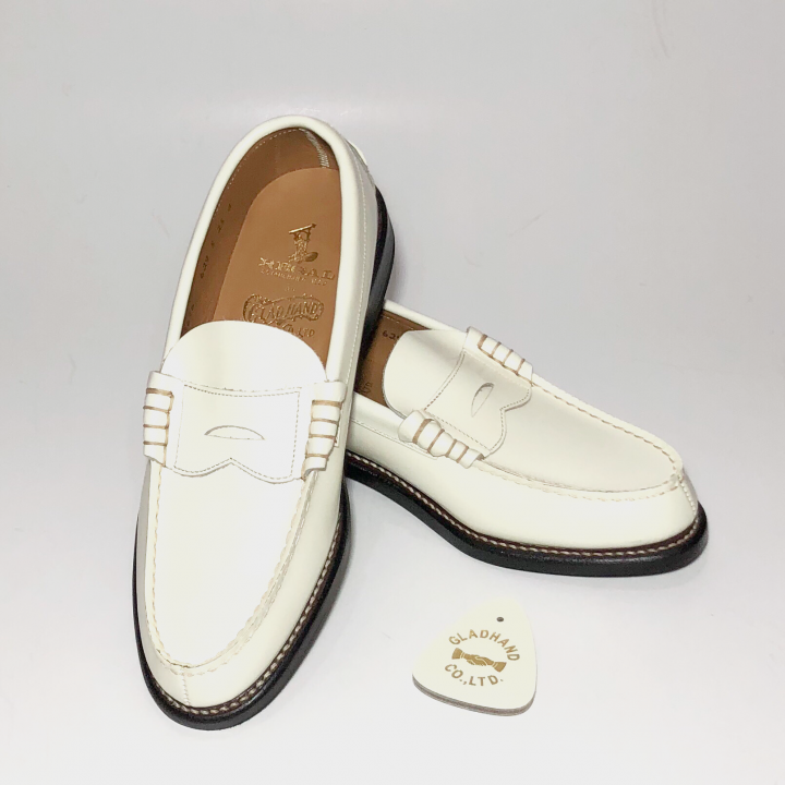 COIN LOAFERS SHOES / WHTの商品画像1