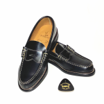 COIN LOAFERS SHOES / BLKの商品画像