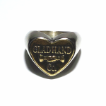 """BUTTON RING """"HEART"""" / SMALLの商品画像"""